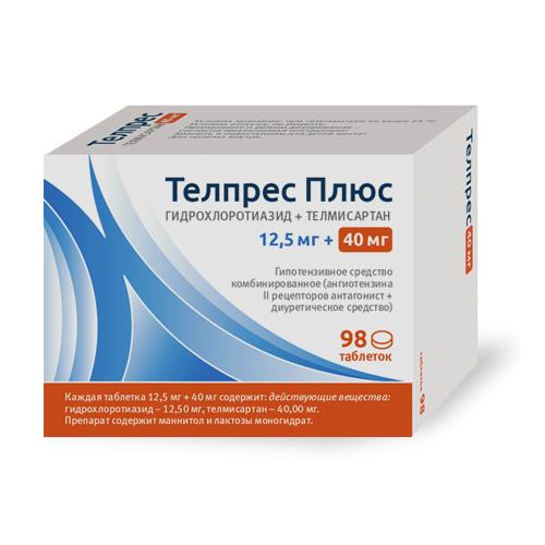 Телпрес таблетки 40 мг, 28 шт. - купить, цена и отзывы ...