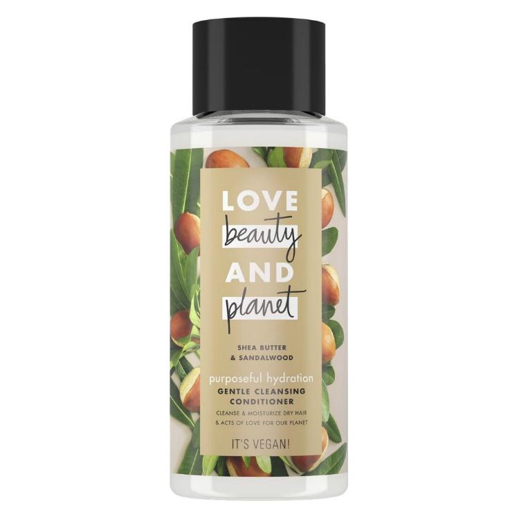 Love Beauty and Planet Кондиционер-очищающий для волос счастье и увлажнение, 400 мл